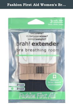 Fashion First Aid Women's Brah Extender Bra Breathing Room 3 Hook 3 Pack. When your bra straps are drawing more attention than your outfit, it's time to look for other options. Shiny clear bra straps are more obvious than regular straps, but Clear Gone invisible bra straps are slightly cloudy so they are less noticeable. At 1/2 inch wide and with just enough stretch to be comfortable, Clearly Gone clear bra straps provide support without a statement and are the perfect straps to use on a...