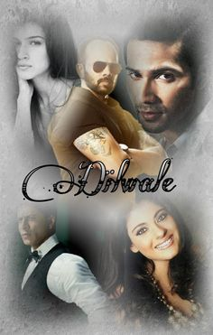 @SRK_LIVE I made Poster Dilwale I'm so excited movie @iamsrk @KajolAtUN @kritisanon Dilwale On Xmas 2015