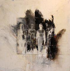 ulrike bolenz Figure Painting, Figure Drawing, Figurative Kunst, Kunst Online, Glitch Art, Matte Painting, Gravure, Art Sketchbook, Collage Art