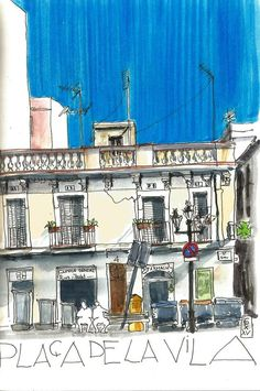 Karin, Sketching Barcelona
