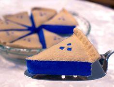 Blueberry Pie Catnip Cat Toy by KikisToyCo on Etsy
