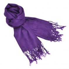 everyone needs a violet scarf
