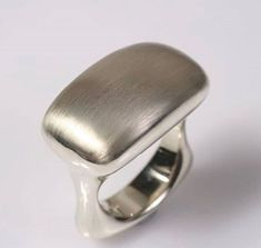 9151b1478 silver ring by Love and Hatred at http://loveandhatred.com/ Metal