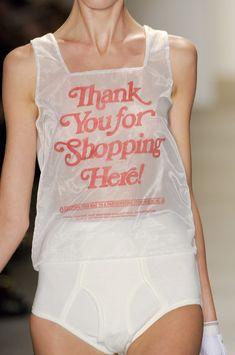 wahrheidin — anndemeulemeesterfanclub: Plastic Bags @ Jeremy...                                                                                                                                                                                 More