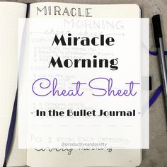 Besides my bullet journal the only other thing I follow faithfully is the miracle morning. Ever since I started incorporating my SAVERS routine into my mornings I've been more productive, positive and energized. If you want to learn more about my SAVERS routine in my bujo check out my earlier post! Some mornings I find myself …
