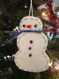 Snowman by Hillary Lang, via Flickr