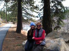 Aly girl in Tahoe!