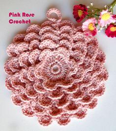 Pega+Panelas+Croche+Flor+Pétalas+Crochet+Prettty+Petals+Pot+Holders.png (460×520)