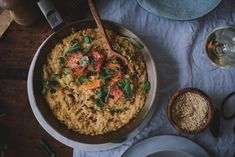Sitrusrisotto (V, GF) – Viimeistä murua myöten Master Chef, Risotto, Grains, Rice, Vegan, Cooking, Ethnic Recipes, Food, Kitchen