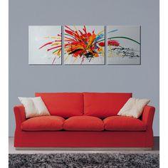 <li>Title: Abstract569</li><li>Product type: Hand-painted Gallery-wrapped Canvas Art Set</li><li>Style: Matching Set</li>