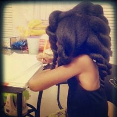 Gorgeous - To learn how to grow your hair longer click here - http://blackhair.cc/1jSY2ux