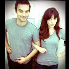 New Girl - Jake and Zooey