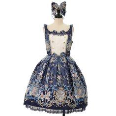 ♥♥♥ Angelic pretty ♥♥♥ Elisabeth Unicorn jumper skirt + headband http://www.wunderwelt.jp/products/detail8845.html Overseas shipping possibility!