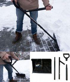 NoBendz: Back Saving Snow Shovel