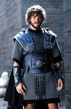 "High Dancy as Galahad in ""King Arthur"" (Roman/Medieval) Hugh Dancy, British Actors, American Actors, King Arthur Movie, Mists Of Avalon, Roi Arthur, Jonathan Scott, Clive Owen, Fantasy Costumes"