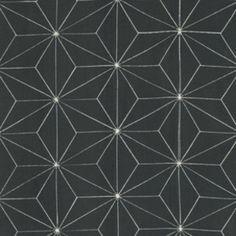 Free Spirit - Katagami - Star Crossed - Steel | Fabric Spark 6$