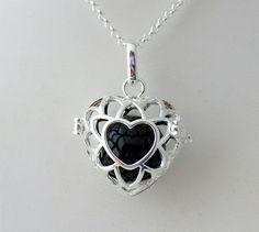 Silver Angel Callers Mexican Bola Harmony Balls Necklace | DesignsForAnAngel - Jewelry on ArtFire
