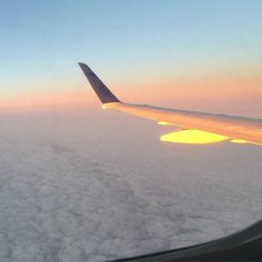 Flying into Newark was pretty