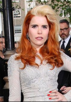 Paloma Faith's blonde streaks
