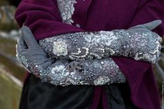Diy And Crafts, Sequin Skirt, Gloves, Glamour, Couture, Embroidery, Beads, Corset, Womens Fashion
