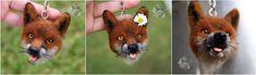 Needle felted Keychain! Felt Keychain, Needle Felting, Wolf, Sculptures, Animals, Art, Art Background, Animales, Animaux