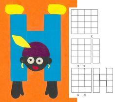 Zwarte piet loopt op zijn handen. 16 vierkantjes Origami, Kids Daycare, Creative Teaching, Pikachu, Crafts For Kids, December, Holiday, Fictional Characters, Google