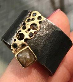 Designer made alternative engagement ring for men!
