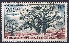 Afrique occidentale française, timbres de collection ex-colonies sur Philatéma