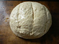 Wild Yeast Hearth Bread -  This bread is not a soft sandwich type bread like most of the other sourdough bread recipes I've shared. This is a hearth style bread that h...