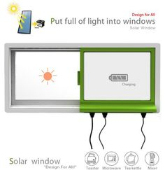Solar Window: Let your window power your home appliances | Green Diary - Green Revolution Guide by Dr Prem
