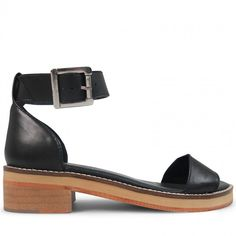 Wittner Dree Sandal Black Leather