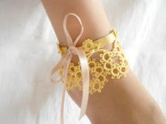 Lovely anklet...a must try!