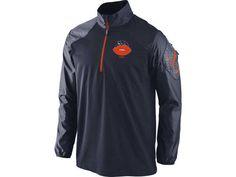 Chicago Bears Alt Hybrid 1/2 Zip Jacket By Nike
