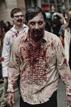 Toronto Zombie Walk #Halloween #Zombie #TorontoZombieWalk
