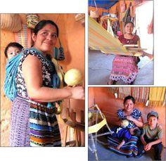 natural dye artisans hard at work in Guatemala