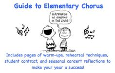 Elementary Chorus Guide - Happiness is Singing in the Choir!