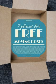 7 places to score free moving boxes