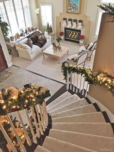 Christmas Home Tour | FrugElegance | www.frugelegance.com