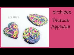 Polymer Clay Tutorial | Modellazione di Fiorellini e Foglioline | Fluo Colors | Applique - YouTube