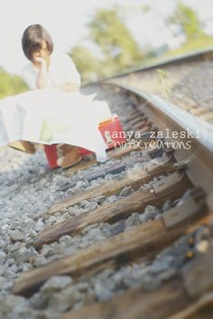 Photo session train tracks, railroad. tanya zaleski photocreations blog: Dream of traveling - Montreal's South Shore child photographer