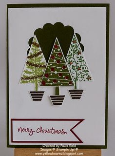 Yellowbear Stampin: Festival of Trees - part three