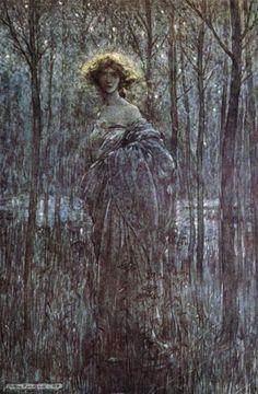 Fair Helena, Midsummer Night's Dream, 1909 Arthur Rackham at Art Passions