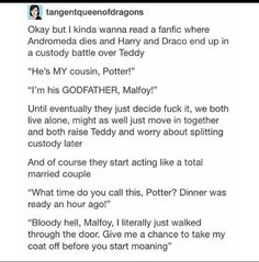 I don't ship Drarry but this is cute af