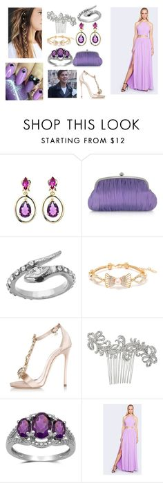walking down the red carpet with Felix Sandman as your date by katleenpierre on Polyvore featuring Fame & Partners, Dsquared2, Julia Cocco', Oscar de la Renta, Peermont, Blu Bijoux and Nina