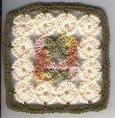 circle granny square tutorial