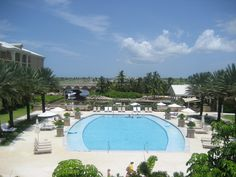 Ritz Carlton Pool - Grand Cayman picture taken by me on vacation