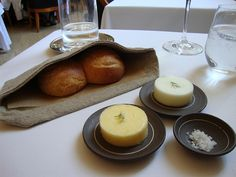 Eleven Madison Park Just looks like bread and butter but it's Amazing!