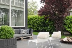 Teakhouten loungeset Sil, uit de ROYAL DESIGN collectie.
