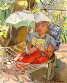 Reading and Art: Maurice Barraud