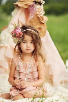 delightful nod to romance and whimsy... cute idea for a flower girl :)